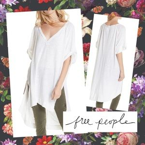 We the FREE PEOPLE Diego Tee oversized fit S M L